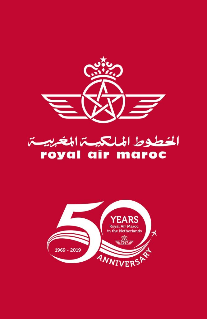 Royal Air Maroc 50jaar in Nederland