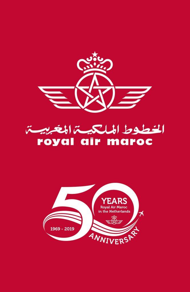 Royal Air Maroc 50jaar in Nederland