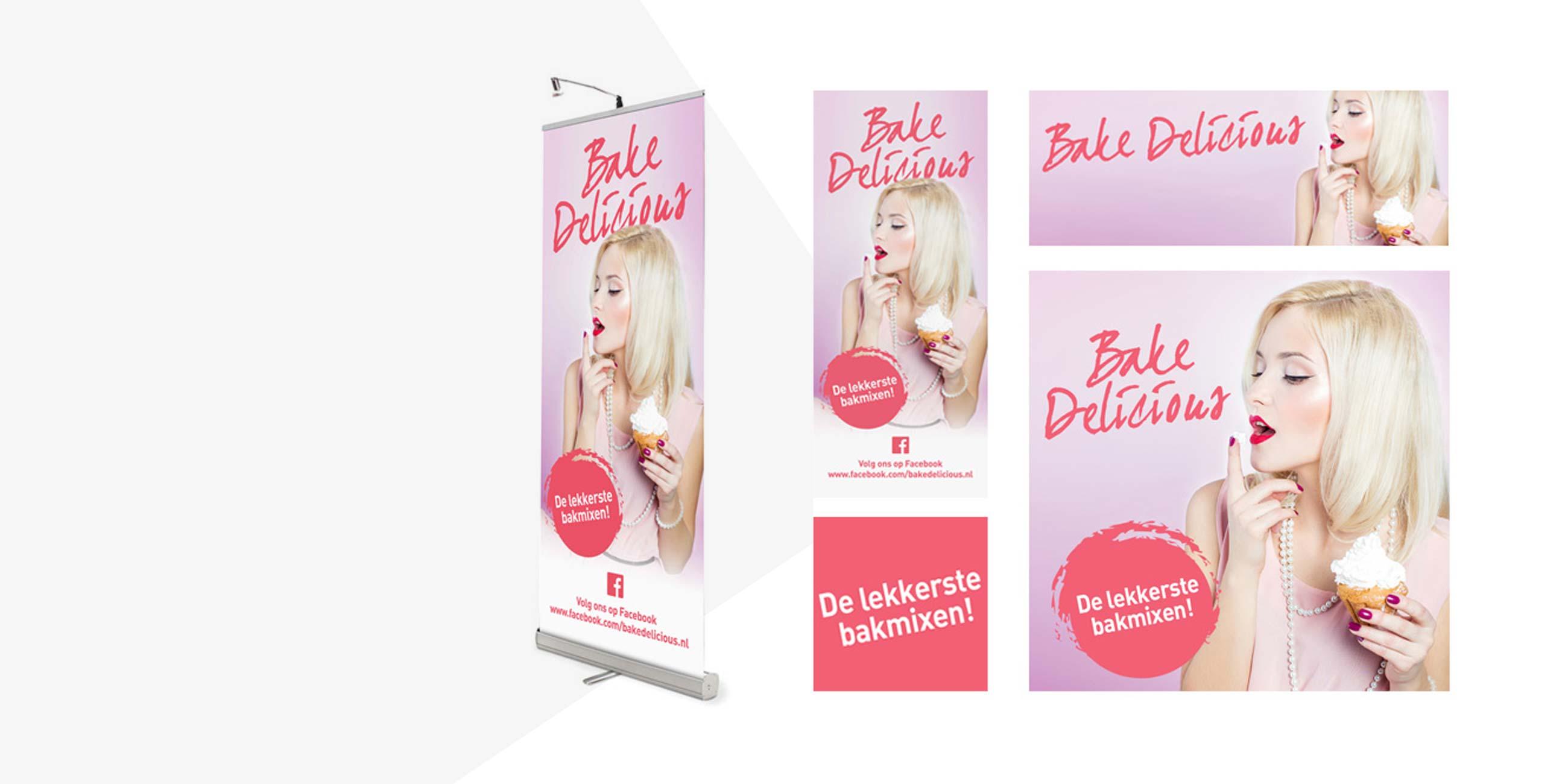 Roll-up banners en socialmedia banners