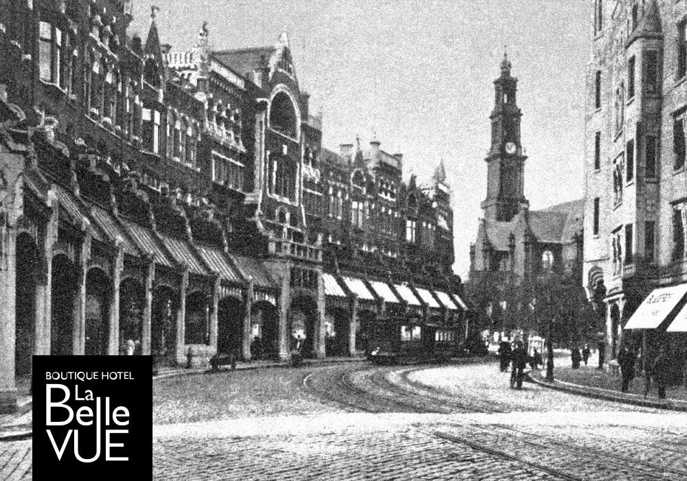 Raadhuisstraat oude foto